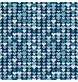ethnic blue tribal seamless pattern vector image