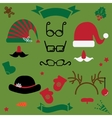 christmas clothes vector image