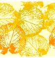 autumn leaf grunge vector image vector image