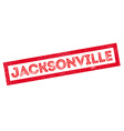 Jacksonville rubber stamp vector image