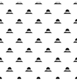 The sac mountain of Fuji Japan pattern vector image