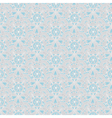 Seamless gray-blue vintage pastel pattern vector image vector image