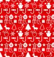 Christmass seamless pattern vector image