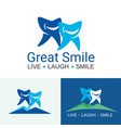 dental care great smile vector image