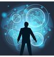 Virtual Technology vector image