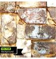 wall brick grunge background EPS vector image