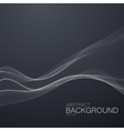 3D abstract digital wave vector image