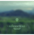 adventure vector image