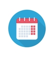 Calendar isolated icon vector image
