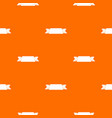 ribbon banner pattern seamless vector image