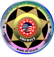 al 0217 sheriff badge vector image vector image