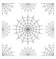 various cobwebs vector image