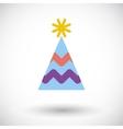 Holiday cap vector image vector image