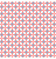 flat seamless texture with flowers vector image