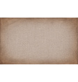 Horizontal brown canvas to use as grunge vector image