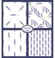 set of simple lavender backgrounds vector image