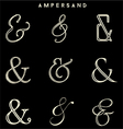 Ampersand Collections vector image