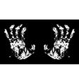 Hands Terrible vector image