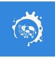 Cow Milk Product Logo vector image