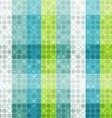 abstract circle seamless pattern vector image
