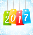 Happy New Year Greetings Card vector image
