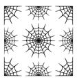 various cobwebs vector image