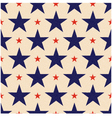 seamless usa stars background vector image