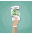 paying taxes concept vector image