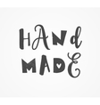 hand drawn handcrafted stamp set vector image