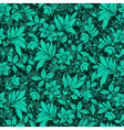 Floral Hedge Pattern vector image