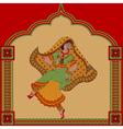 Indiane woman dance vector image