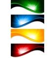 vector tech background vector image vector image