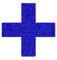 add math operation icon grunge watermark vector image