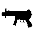 Military Uzi vector image