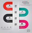 Minimal infographics options elements vector image vector image
