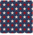 seamless patriotic usa stars flag background vector image vector image