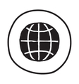 Doodle Earth icon vector image