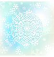 Christmas background in soft colors vector image
