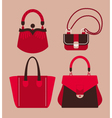 Woman bags vector image