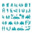 Big set of icons vector image