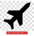 Aeroplane Eps Icon vector image