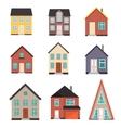 Flat House Icon set vector image