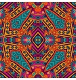 ethnic tribal seamless colorful Geometric print vector image