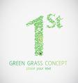 grass first vector image