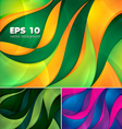 Curvy abstract background 2 vector image vector image