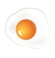 Scrambled egg vector image