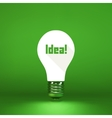 Idea concept 3d vector image