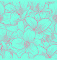 beautiful monochrome blue and pink seamless vector image