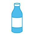 water glass bottle vector image