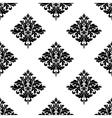Diamond shaped seamless arabesque pattern vector image vector image